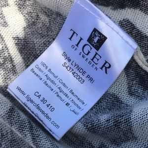 Tiger of Sweden Sweaters - TIGER of Sweden cotton sweater high-low cover up